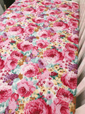 Bright Floral Cot Quilt