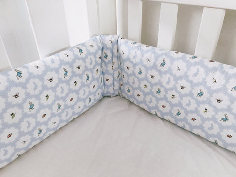 Blue Peter Rabbit Cot Bumpers
