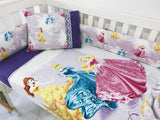 Pretty Purple Princess Bumper Quilt Set
