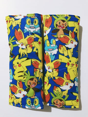 Packed Pokemon Baby Seat Belt Covers