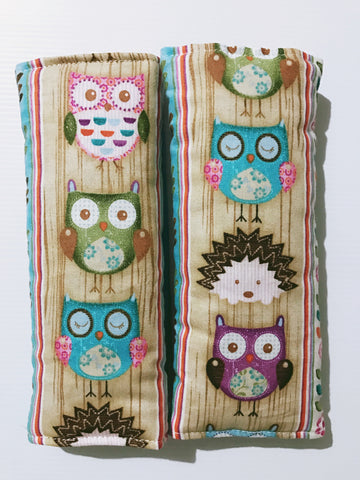 Woodland Critters Baby Seat Belt Covers