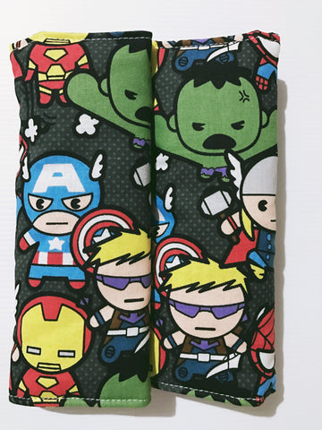 Kawaii Marvels Baby Seat Belt Covers