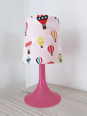 Pink Hot Air Balloons Lamp