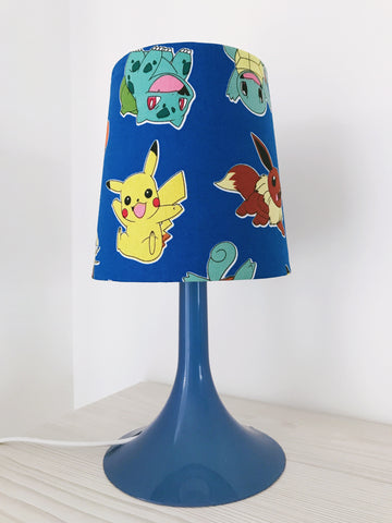 Blue Pokemon Lamp