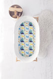 Watercolour Forest Animals Bassinet Fitted Sheet