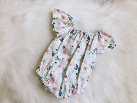 Mia Floral Seaside Playsuit