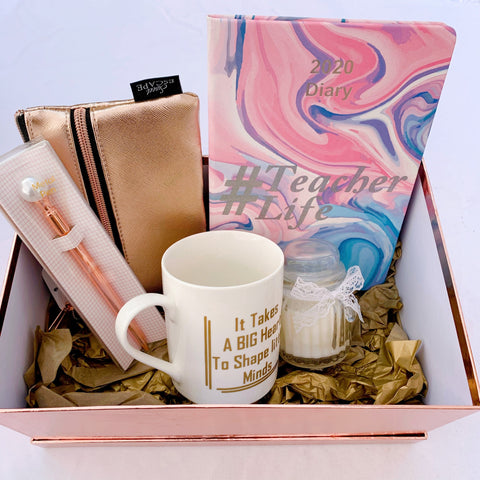 Teacher Gift Set - Pink Marble