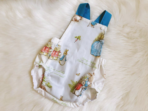 Peter Rabbit Classic White Summer Romper