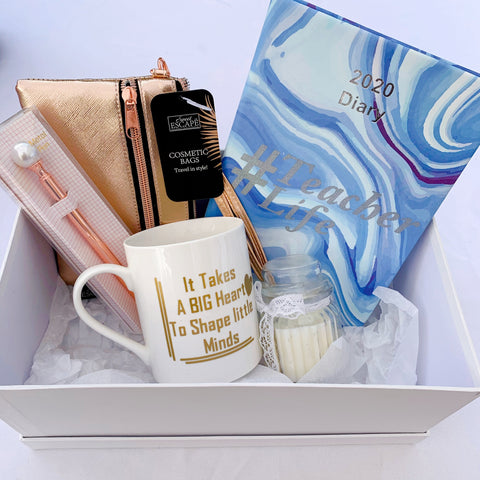 Teacher Gift Set - Blue Marble
