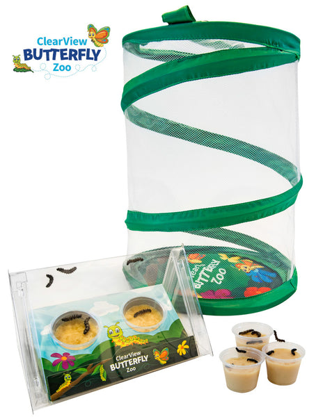 ClearView Butterfly Zoo - Voucher Kit