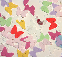 Plantable Paper Confetti - Butterfly Shape (1 oz bag)