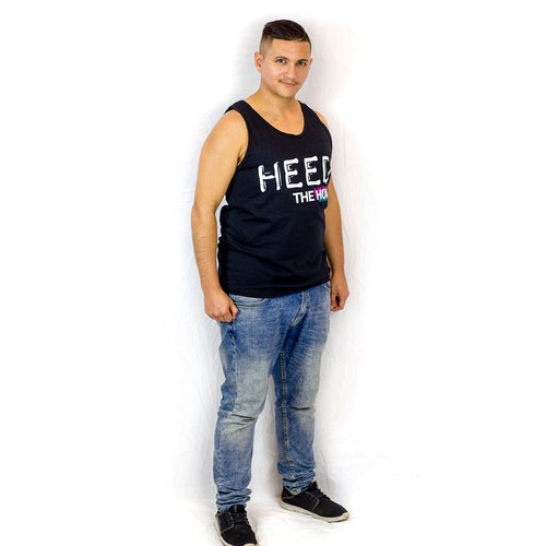 HEED THE HUM Black Unisex Tank top, Shirt, HEED THE HUM