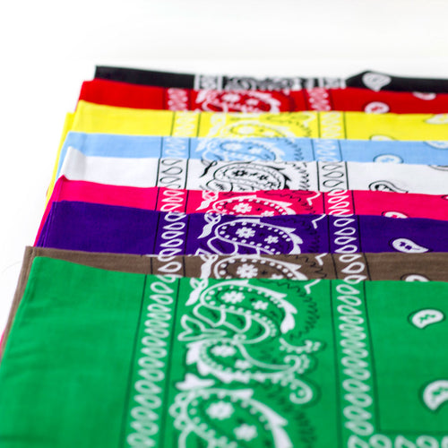 Express Yourself Essential Bandana - unisex, 100% cotton, accessories, HEED THE HUM