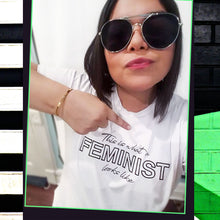 This Is What A Feminist Looks Like Unisex Embroidered T-shirt, Shirts, HEED THE HUM