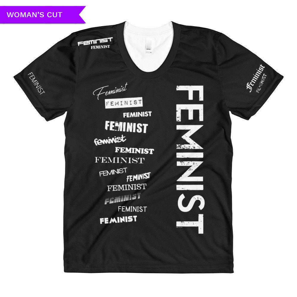 Feminist T-shirt - Woman's Cut, Shirts, HEED THE HUM