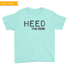 Heed The Hum Logo Youth T-Shirt, Shirts, HEED THE HUM