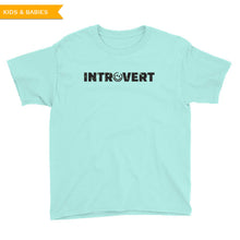 Introvert Youth Short Sleeve T-Shirt, Shirt, HEED THE HUM