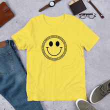 Introvert All Day and Smile Short-Sleeve Unisex T-Shirt, shirt, HEED THE HUM