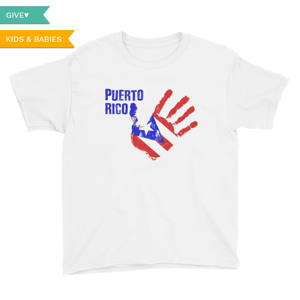 Puerto Rico Relief Youth T-Shirt