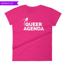 Queer Agenda Women's Cut T-shirt