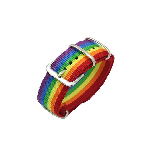 Rainbow Pride Wrist Band Bracelet - Unisex Watch Strap - Pride Colorful Strap LGBTQIA+