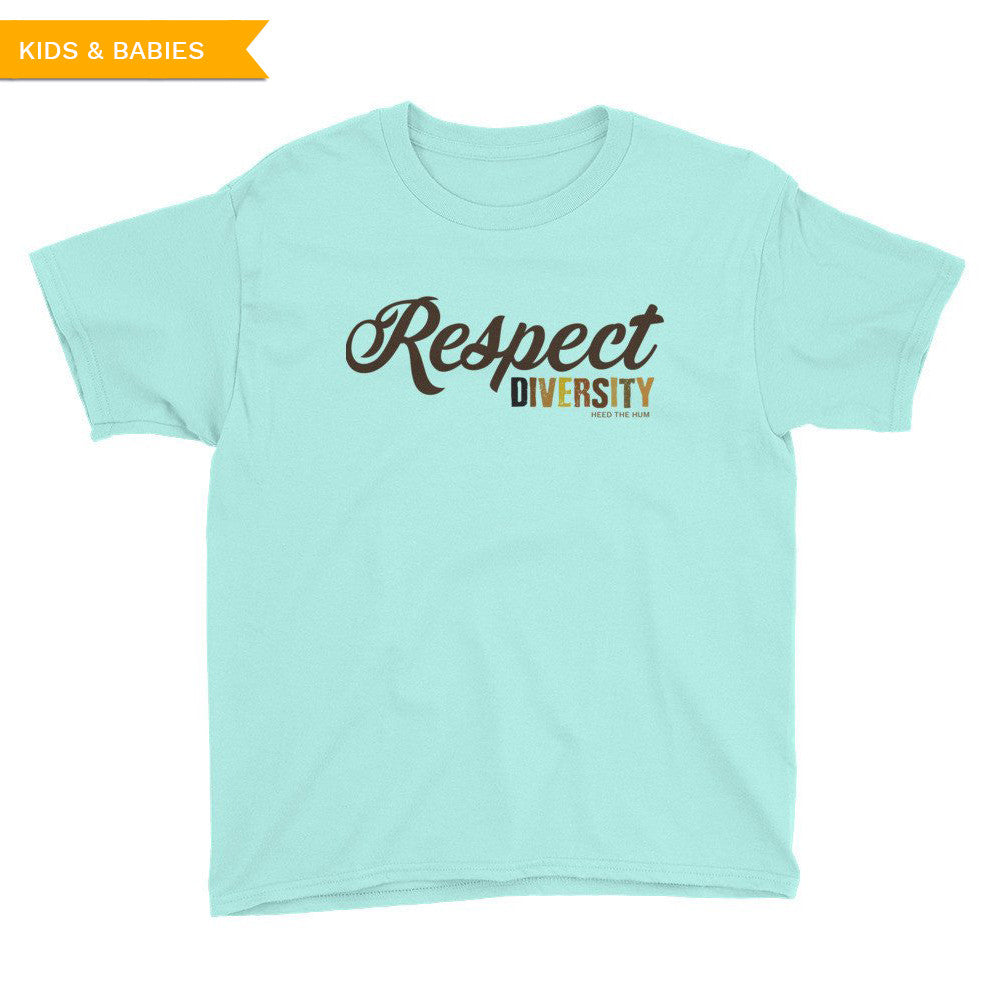 Respect Diversity Unisex Youth Kids T-Shirt