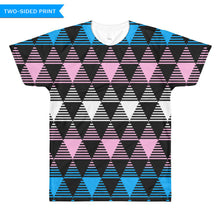 Trans Flag T-shirt (double sided), Shirts, HEED THE HUM