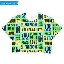 Vulnerability Crop Top, Shirts, HEED THE HUM