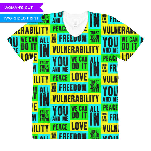 Vulnerability Woman's Cut T-shirt