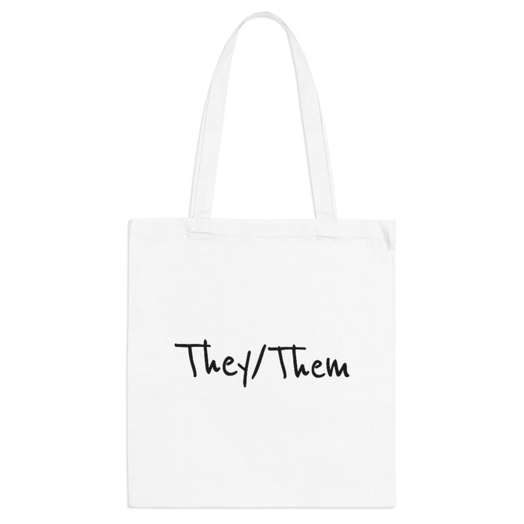 They/Them Tote Bag