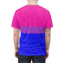 Bisexual Pride Flag Unisex Tee Shirt by HEED THE HUM