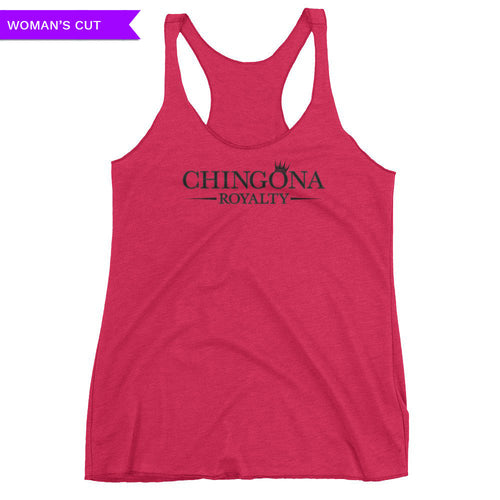 Chingona Royalty Woman's Cut Tank Top, Shirts, HEED THE HUM