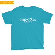 Chingona Royalty Youth T-Shirt, Kids, HEED THE HUM