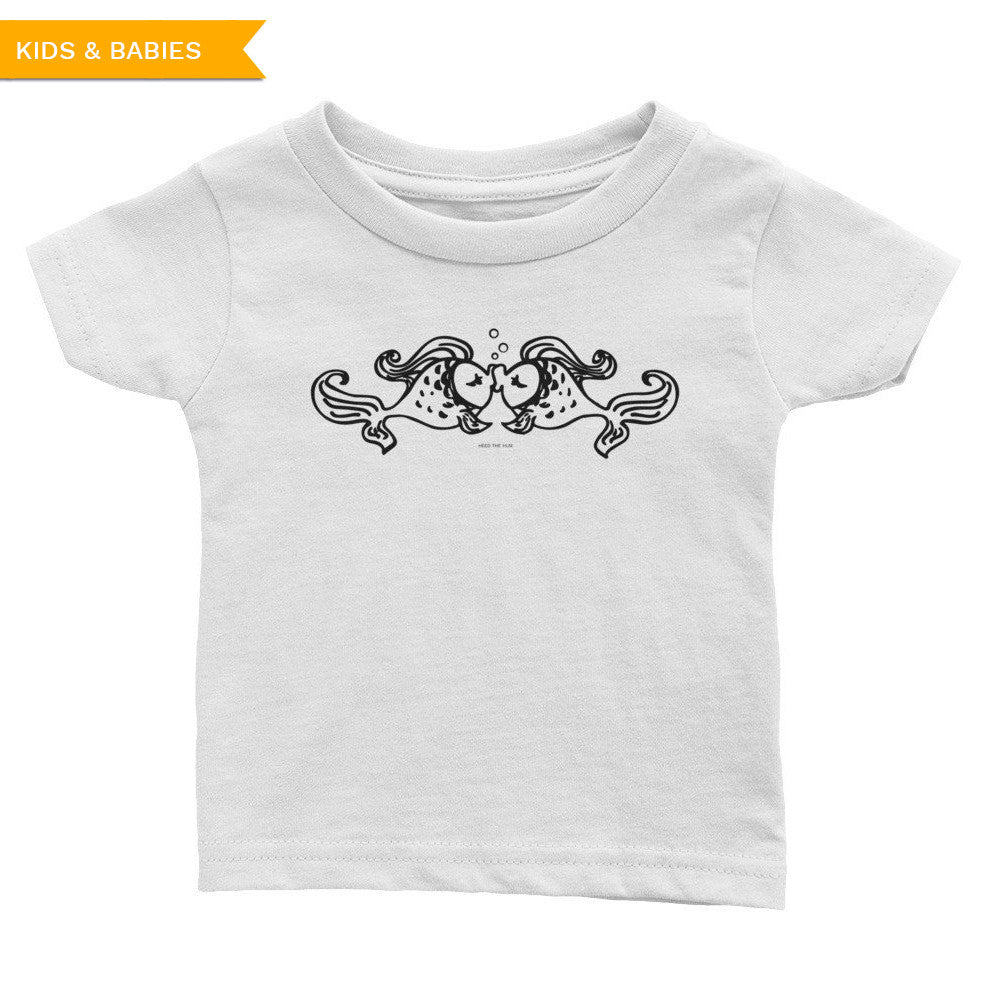 Fish Kiss Infant Tee, Baby, HEED THE HUM