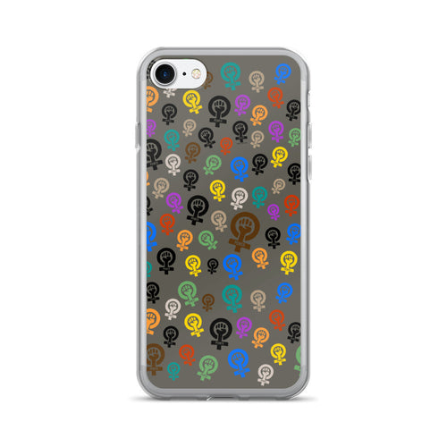 Feminist Power Pattern iPhone 7/7 Plus Case, Phone Case, HEED THE HUM