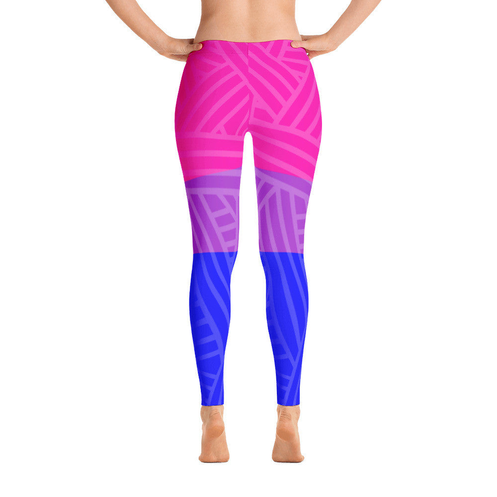 Bisexual Pride Flag Leggings | LGBTQ, Leggings, HEED THE HUM