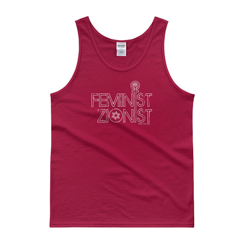 Feminist Zionist Unisex Tank top, Shirts, HEED THE HUM