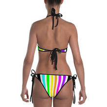 Rainbow Stripes Vertical Bikini