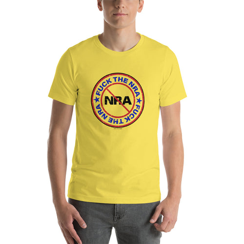 FUCK THE NRA Short-Sleeve Unisex Activist T-Shirt, Shirts, HEED THE HUM