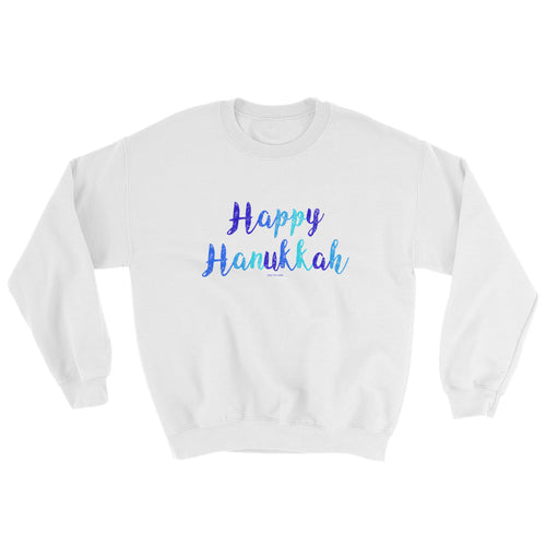 Happy Hanukkah Unisex Sweatshirt, Sweatshirt, HEED THE HUM