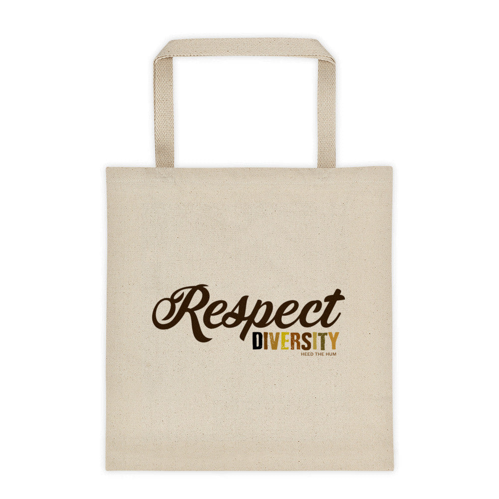 Respect Diversity 12 oz Tote Bag