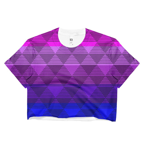 Trans Flag Pride Light Crop Top - LGBTQIA+, Shirts, HEED THE HUM