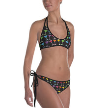 Martini Pride Party Bikini - LGBTQ, swimwear, HEED THE HUM