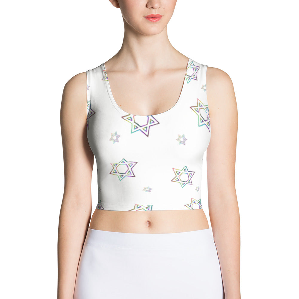 Things Will Get Better - YIHYEH TOV Cut & Sew Crop Top