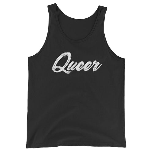 Queer Pride Unisex  Tank Top - LGBTQ, Shirts, HEED THE HUM