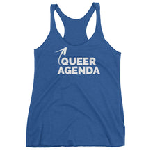 Queer Agenda Women's Cut Tank Top, Shirts, HEED THE HUM