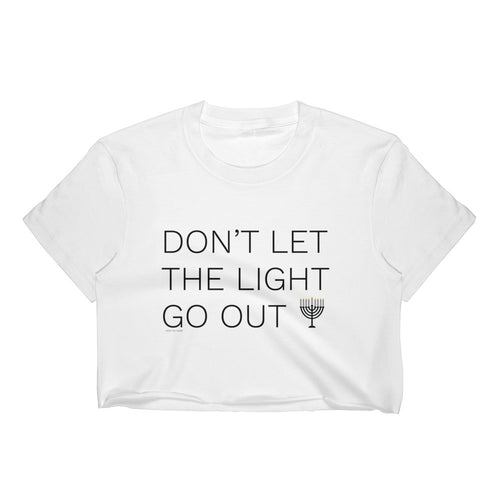 Don't Let The Light Go Out Crop Top, Shirts, HEED THE HUM