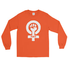 Feminist Power Unisex Long Sleeve Shirt, Shirts, HEED THE HUM