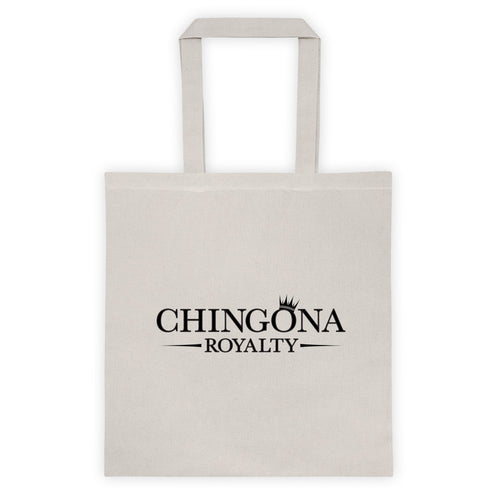 Chingona Royalty 6 oz Tote bag, Tote Bag, HEED THE HUM