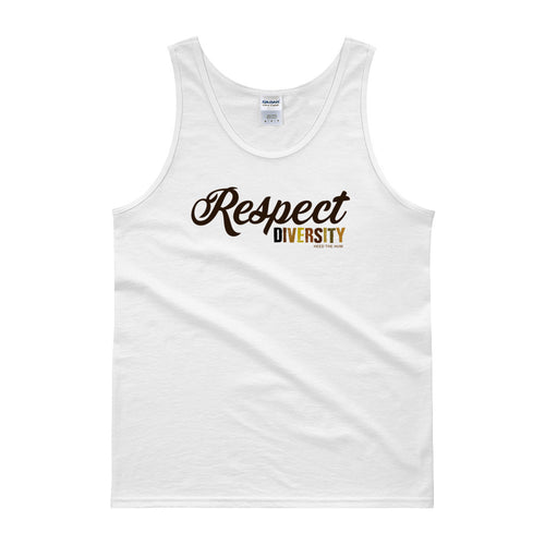 Respect Diversity Unisex Tank Top, Shirts, HEED THE HUM